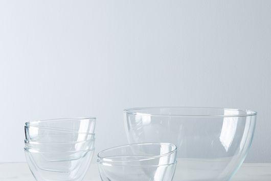 Borosilicate Glass 7 Piece Prep + Mixing Bowl Set
