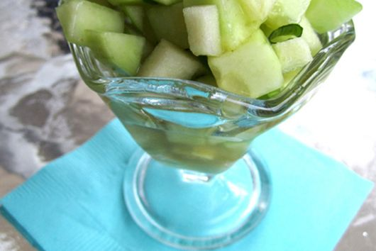 """Gin & Ginger"" Cucumber Salad"