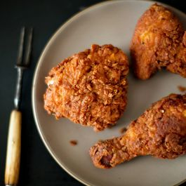 Michael Ruhlman's Rosemary-Brined, Buttermilk Fried Chicken