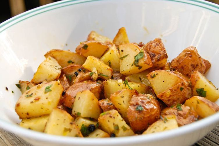 Lemon Thyme Potatoes