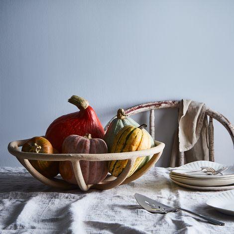 Handmade Coil Prong Bowl