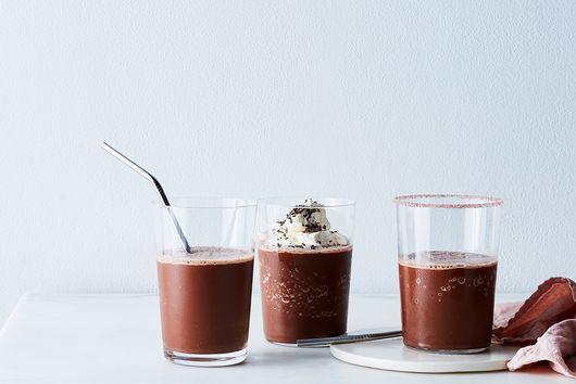 Non-Dairy Choco-Coco-Chile Milkshakes