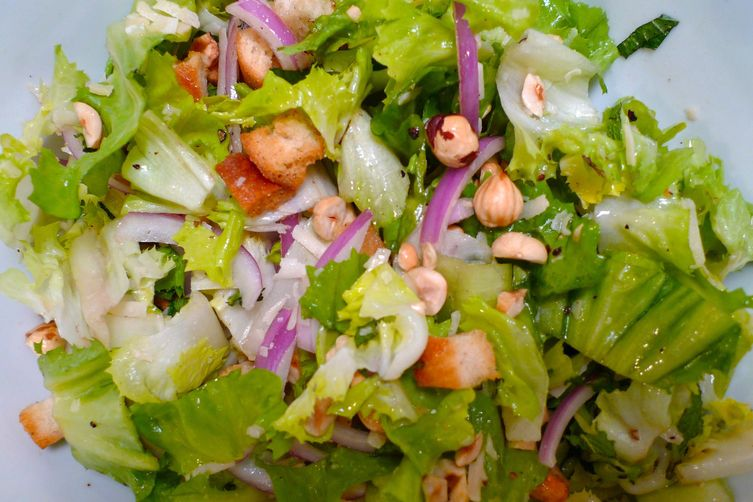Escarole and Hazelnut Salad