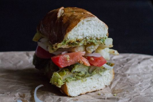 Loaded Roasted Veggie Sandwich