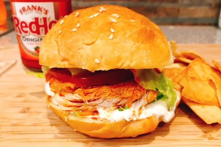 Buffalo Chicken Sandwiches & Ranch