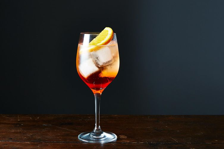 Aperol spritz recipe on food52 for Cocktail spritz