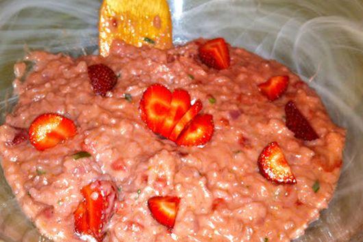 Strawberry Risotto