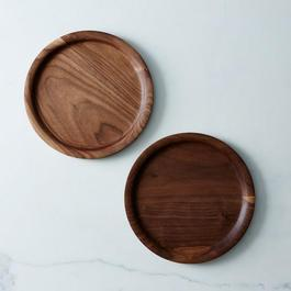 Wood Plates (Set of 2)