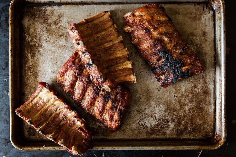 Salt and Pepper Babyback Ribs