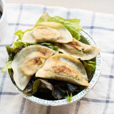 Tofu Kale Dumplings