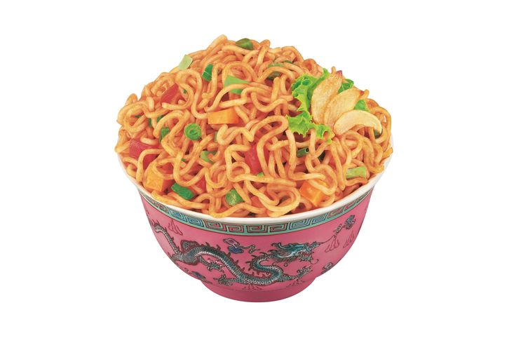 Hot Garlic Instant Noodles