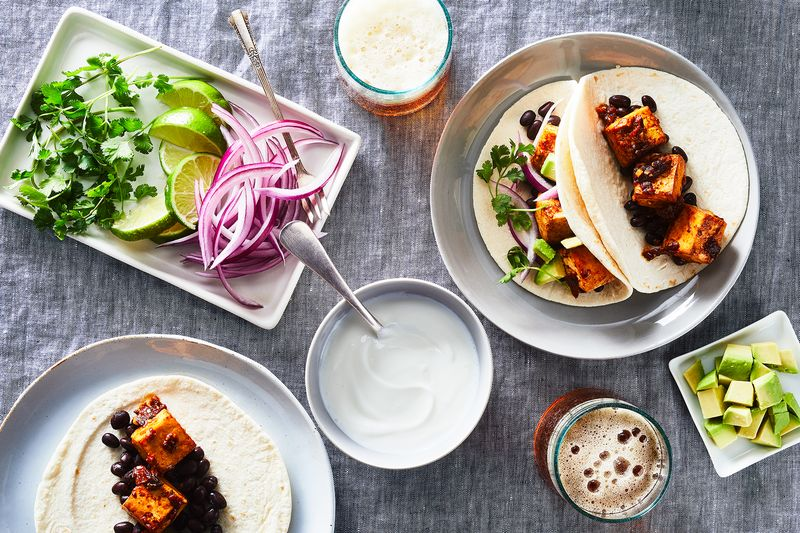 Make your next Tuesday a Tofu Taco Tuesday.