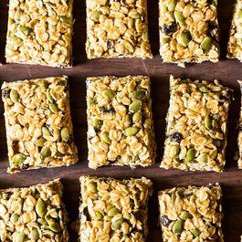 Five Minute, No-Bake Vegan Granola Bars