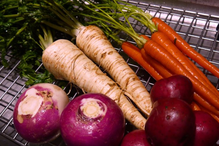 Root Vegetable Boxty