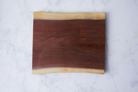 Handcrafted Organic Edge Walnut Board