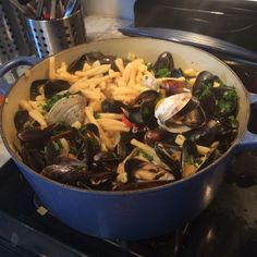 Casarecce w/ Clams and Mussels