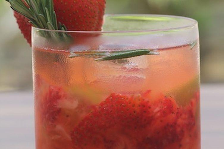 Strawberry Rosemary Mojito