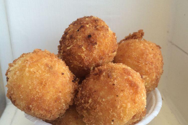 Parmesan Polenta Balls Recipe on Food52