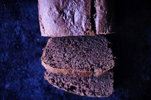 Gluten-Free Buckwheat Cacao Banana Bread Loaf