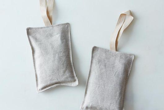 Organic Lavender Linen Sachets (Set of 2)