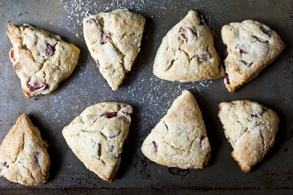 Rhubarb Scones on Food52