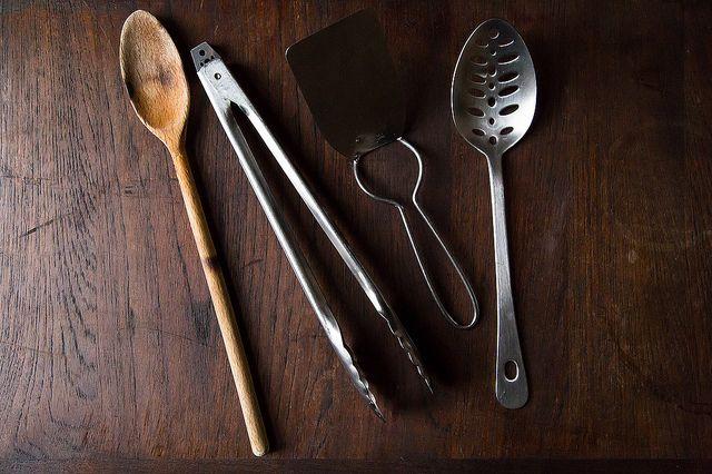 Spatulas, Spoons, Tongs