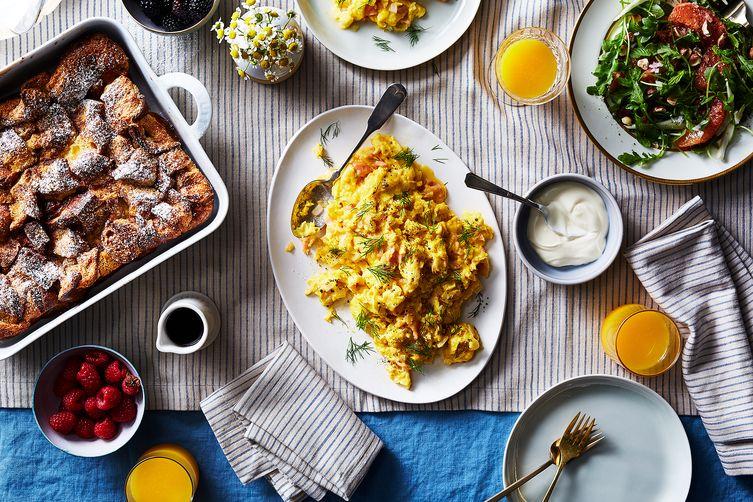 Lox, Eggs, and Onions (aka, LEO)