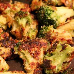 Parmesan Crusted Broccoli