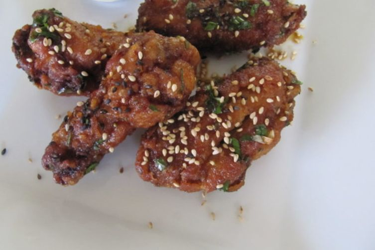 Sesame Shiso Wings