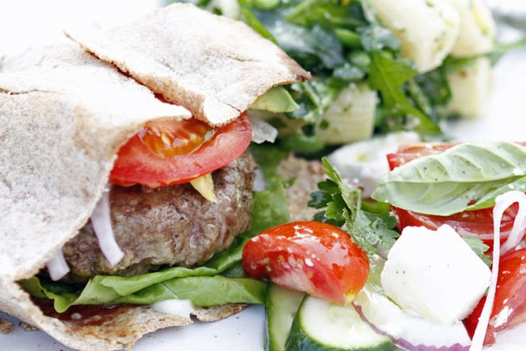 Easy Lamb Burger