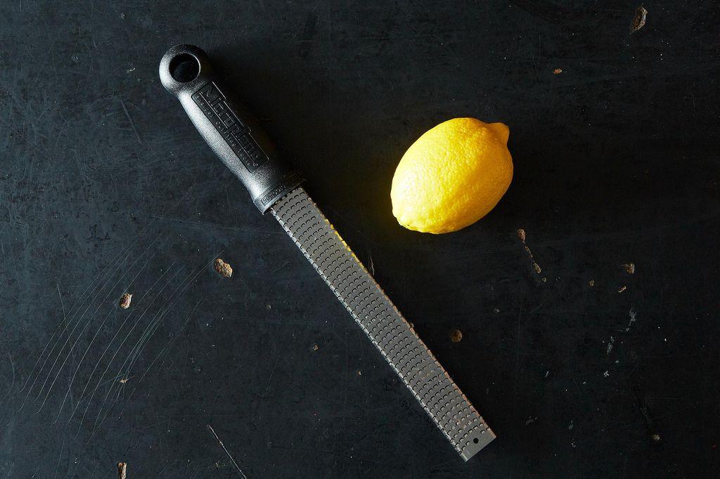 A Trick for Zesting Citrus
