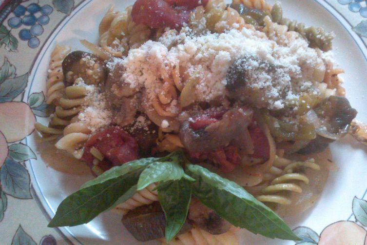 Garden Fresh Rainbow Pasta