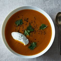 Dinner Tonight: Carrot, Sweet Potato, and Red Lentil Soup