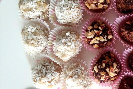 Coconut Lemon Truffles