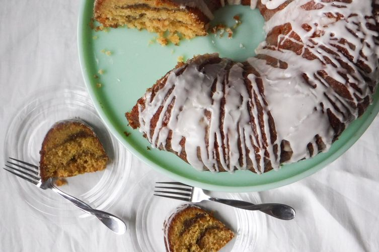 Whole Orange Bundt Cake with Five-Spice Streusel