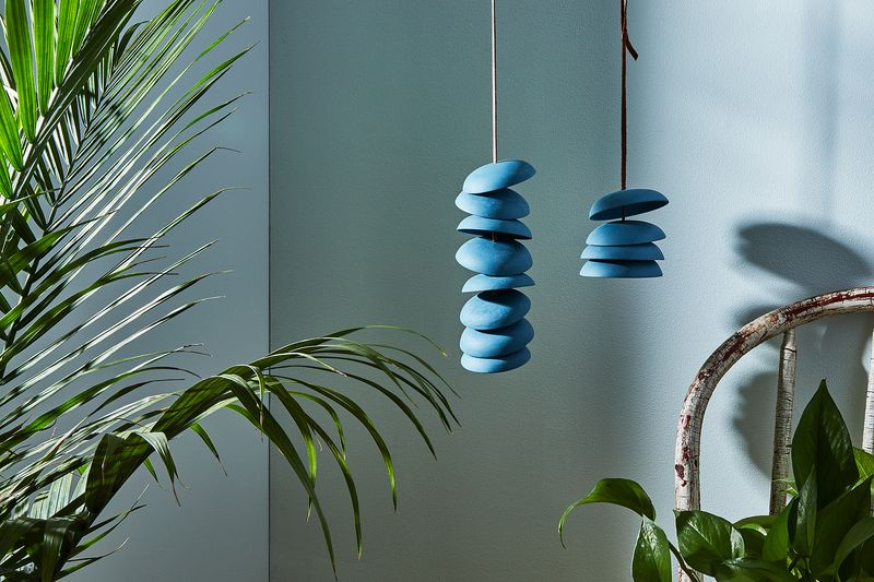 We're listening—to you and these wind chimes.