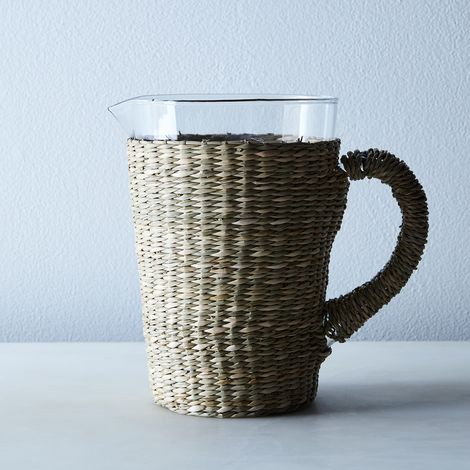 Seagrass Tapered Pitcher