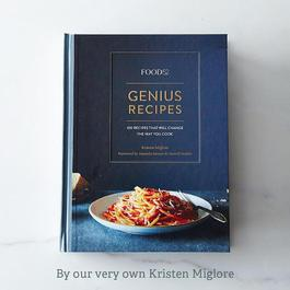 Genius Recipes, Signed Copy PRESALE