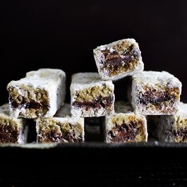 "Zesty Rye Chocolate Snow Bars or ""Jammed"" Snow Bars"