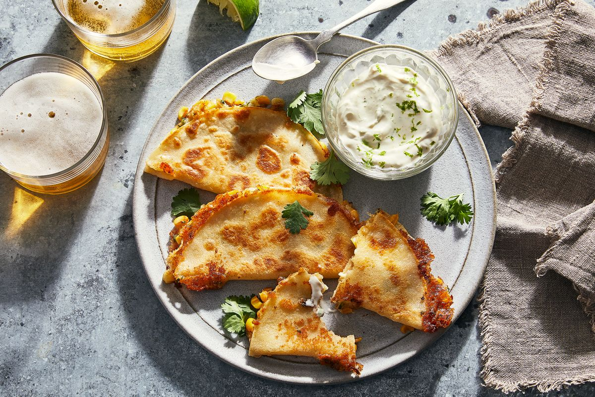 Last-Hurrah Quesadillas & 9 Other Recipes We're Cooking This Week