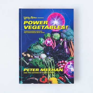 Lucky Peach Presents Power Vegetables!, Signed Copy