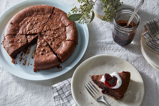 The Nordic Baking Book's Kladdkaka (Swedish Gooey Chocolate Cake)