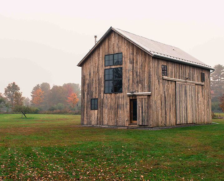 The barn at Westwind Orchard