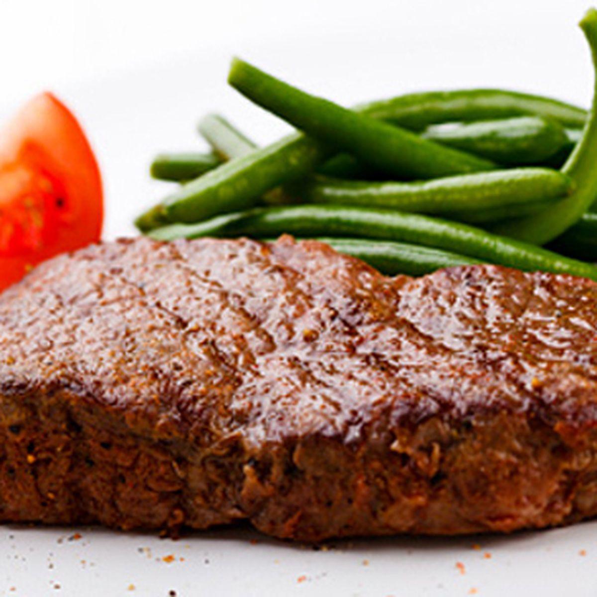 Girls boys petite sirloin steaks