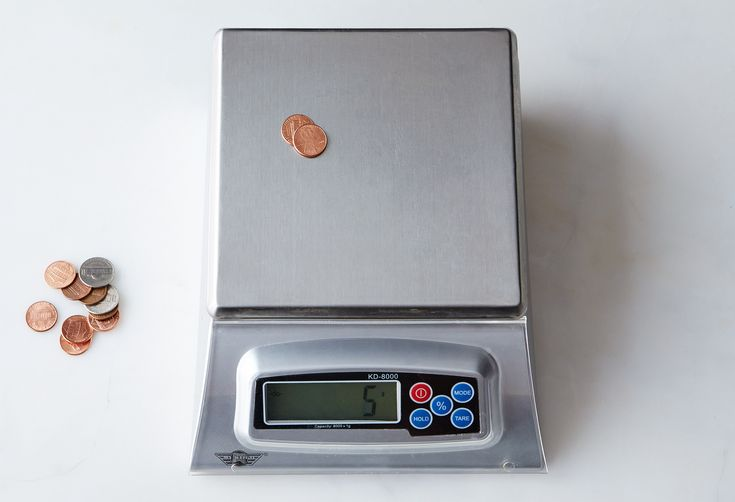 How to Check the Accuracy of Your Kitchen Scale
