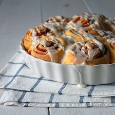 Sweet potato cinnamon buns