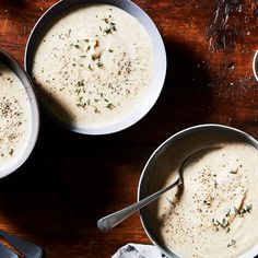 Chestnuts Shine in This Creamy Cauliflower Parmesan Soup