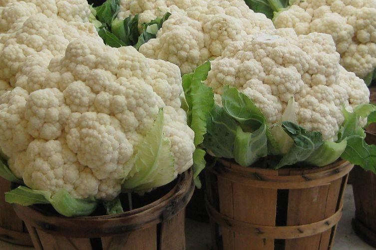 Slow Cooker Cauliflower & Mushroom Soup