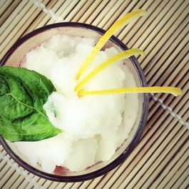 Mint & Meyer Lemon Granita