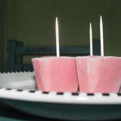 Rhubarb Ice Pops